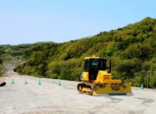 北海道横断自動車道 白糠町 鍛高改良工事 2015年