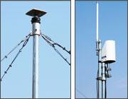 GNSS 固定局と無線送信機